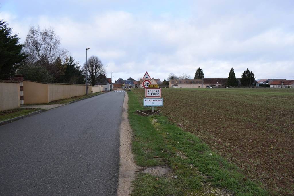 Entrée de Nogent-sur-Eure