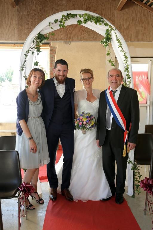 Mariage de Mr et Mme POQUET