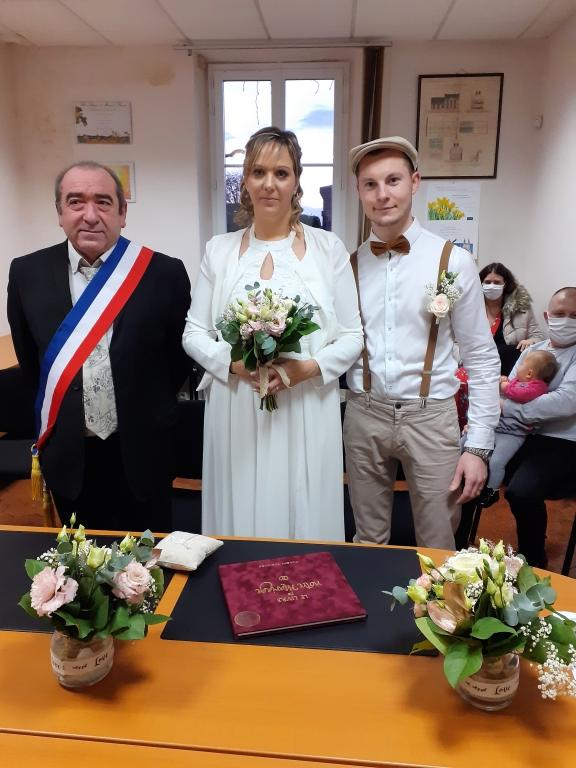 Mariage Mr et Mme BARET