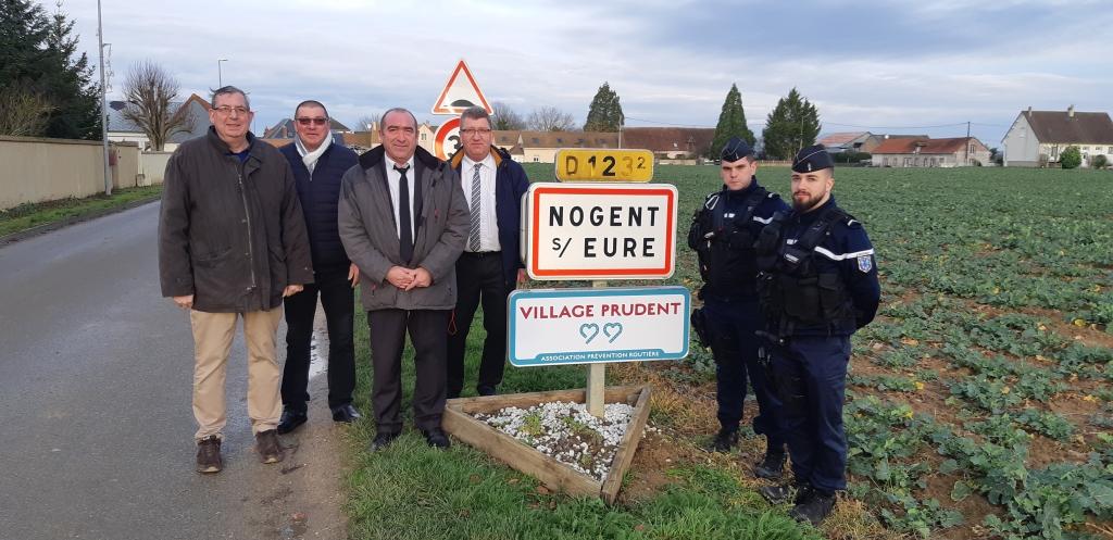 Label Village prudent : et de 2 coeurs pour Nogent!