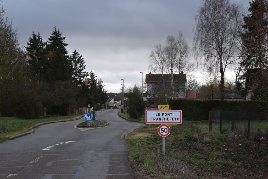 Entrée de Pont-Tranchefêtu