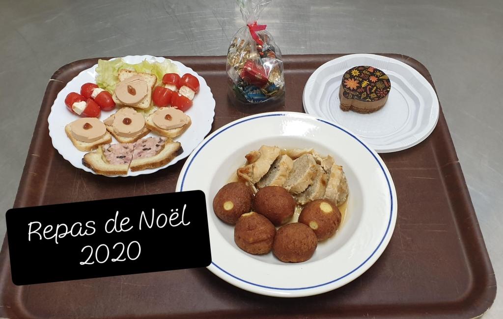 Repas de Noël 2020