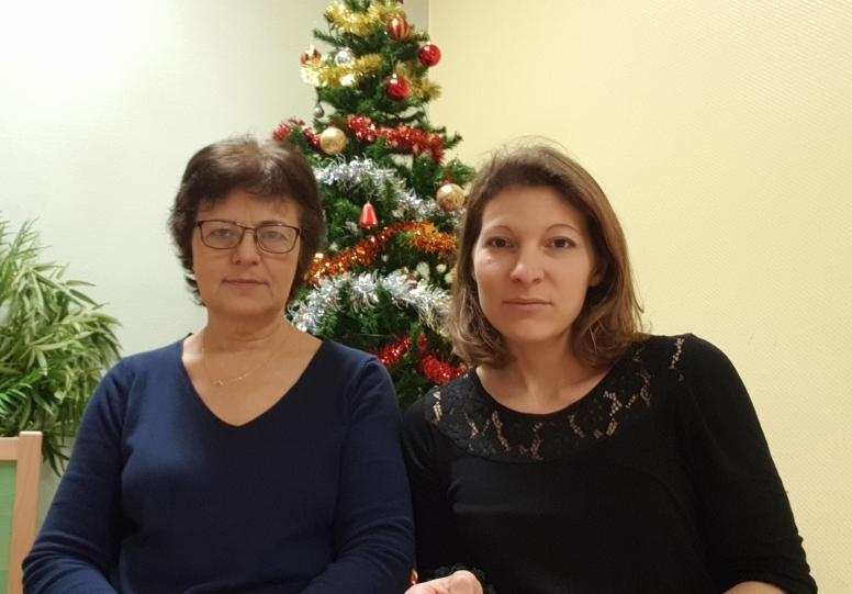 Luisa et Sandrine